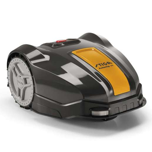 The autonymous Stiga M5 robotic mower