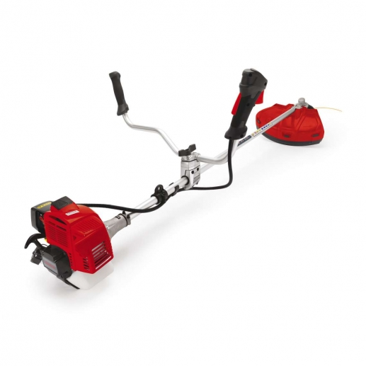 The Kawasaki BK27ED double handle brush cutter